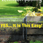 DIY Vermicomposting 3 outdoor composting bins
