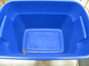 Cheap Worm Bins - Ten Gallon Tote