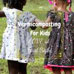 Vermicomposting For Kids two girls holding hands walking.