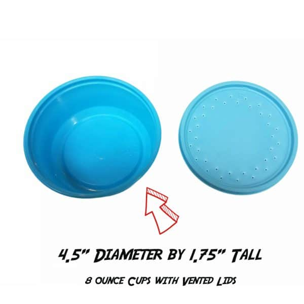 Bait Cups 8 oz. with Lid