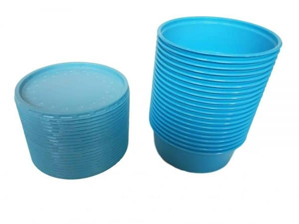 Live Bait Containers with Vented Lid
