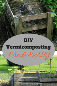 DIY Vermicomposting Made Easy 2 outdoor compost bins