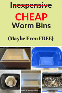 Cheap Worm Bins 5 pictures and examples of cheap worm bins