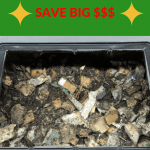 Cheap Worm Bins 1 Worm bin and bedding