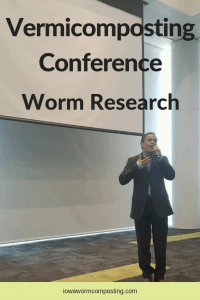 Vermicomposting Conference Worm Research Norman Arancon talking about research results on worm castings tea