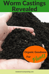 Worm Castings Revealed Organic Goodness for Plants A handful of worm castings