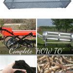 How To Harvest Worm Castings worm castings screen harvester, trommel, shaker, worm castings, and composting worms
