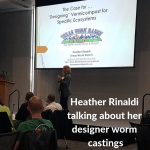 Vermiculture Conference 2018 Heather Rinaldi speaking at the Conference