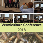 Vermiculture Conference 2018 Collage of Speakers and picture of composting worms