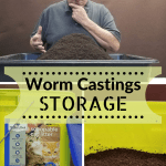 How To Store Worm Castings How To Tutorial
