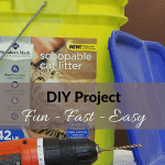 How to Store Worm Castings Bucket and Drill